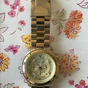 Michael kors gold watch !